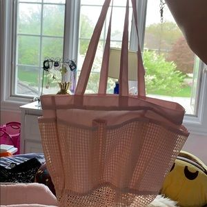 Other - light pink shower caddy